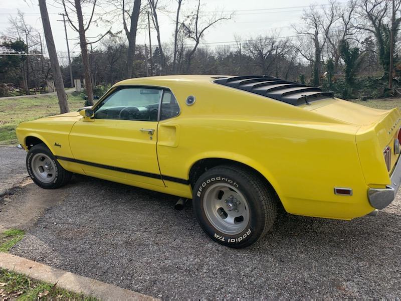 Towing Mustang from West Dallas to Forney, TX