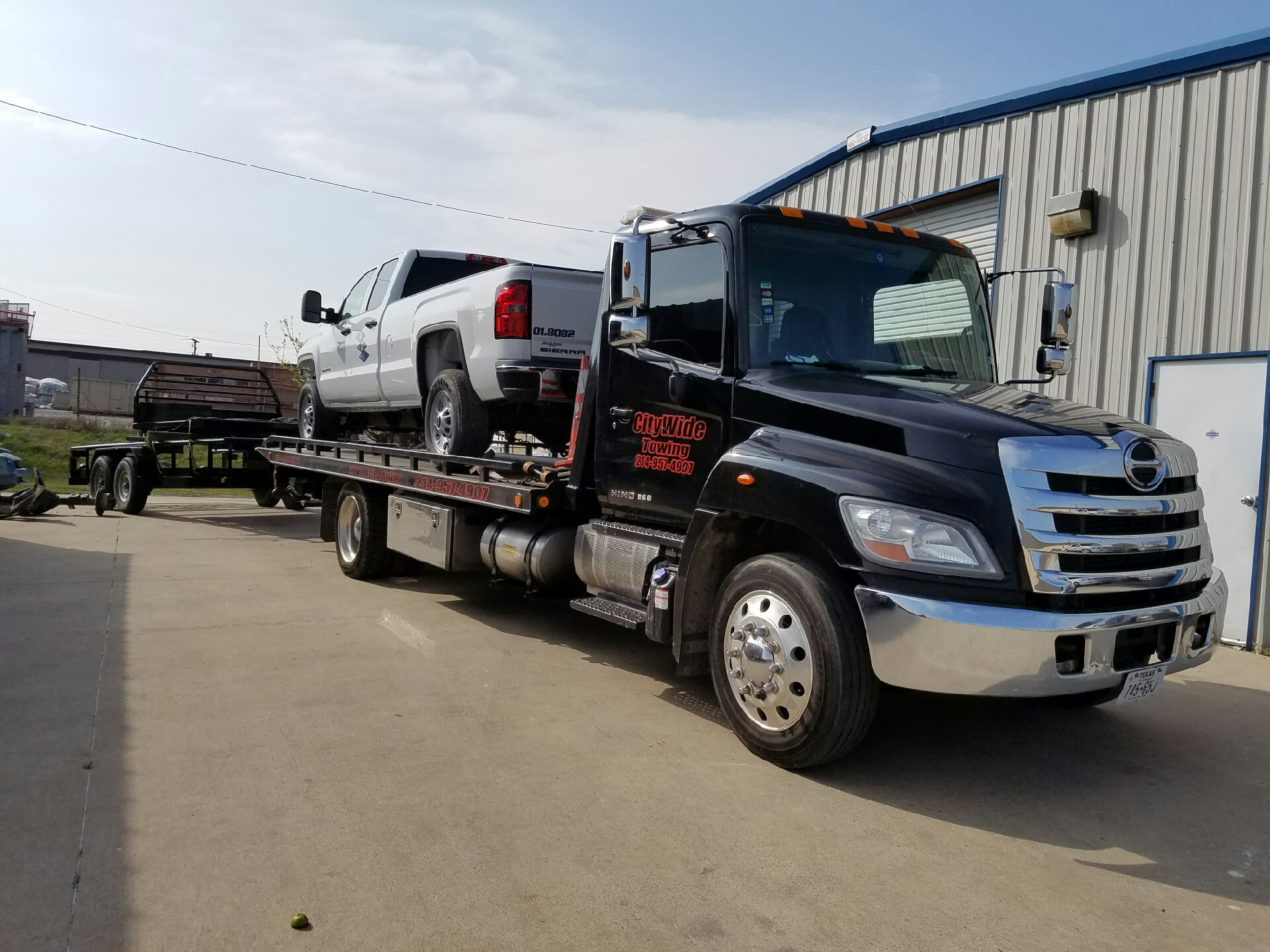 City Wide Towing >> Gallery - Citywide Towing Services | Dallas County, TX Emergency Flatbed Dolly Wheel Lift Tow ...