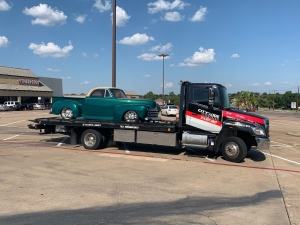 Flatbed Towing from Colleyville to Crandall, TX